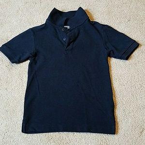 Dockers S (4) Navy blue short sleeve shirt
